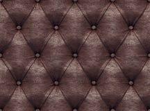 Textura de couro sem emenda Imagens de Stock
