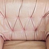 Textura de couro velha do sofá Fotos de Stock