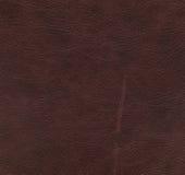 Textura de couro vermelha e marrom Fotos de Stock Royalty Free