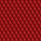 Textura de couro vermelha sem emenda Fundo de couro do vetor ilustração stock