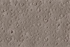 Textura de crateras do meteorito na lua com impactos ilustração stock