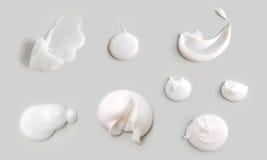 Textura de creme Foto de Stock Royalty Free