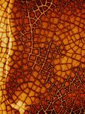 Textura de cristal agrietada de Grunge Imagen de archivo