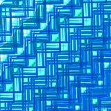 Textura de cristal azul Modelo geométrico abstracto Diseño creativo del fondo Ejemplo retro del estilo Digitaces Art Graphic Imagen de archivo