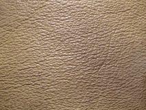 Textura de cuero amarillenta Imagen de archivo libre de regalías