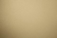 Textura de cuero amarillenta Fotografía de archivo libre de regalías