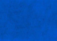 Textura de cuero azul natural del primer Foto de archivo