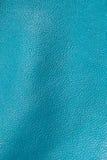 Textura de cuero azul para el fondo Imagen de archivo