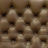 Textura de cuero de la tapicería del sofá viejo Imágenes de archivo libres de regalías