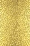 Textura de cuero de oro imagen de archivo