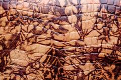 Textura de cuero del Grunge, marrón y vieja imagen de archivo libre de regalías