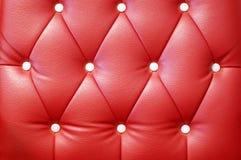 Textura de cuero del sofá Foto de archivo libre de regalías