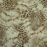 Textura de cuero exótica de la impresión Fotografía de archivo