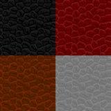 Textura de cuero inconsútil Imagen de archivo