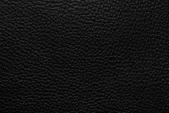 Textura de cuero negra fotografía de archivo libre de regalías