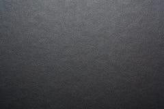 Textura de cuero negra Foto de archivo libre de regalías