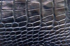Textura de cuero negra imágenes de archivo libres de regalías