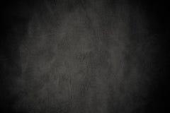 Textura de cuero negra de lujo Imagen de archivo libre de regalías
