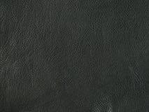Textura de cuero negra natural, real Foto de archivo