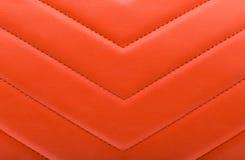 Textura de cuero roja - fondo Foto de archivo
