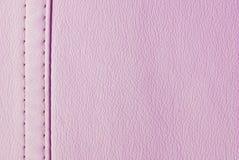 Textura de cuero rosada Imagenes de archivo