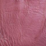 Textura de cuero rosada Imagen de archivo libre de regalías