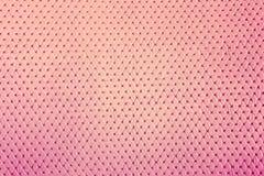 Textura de cuero rosada de lujo para el fondo Fotos de archivo libres de regalías