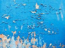 Textura de diversas camadas de pintura rachada para seu projeto imagens de stock