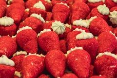 Textura de dulces Primer de algunos dulces Imagenes de archivo