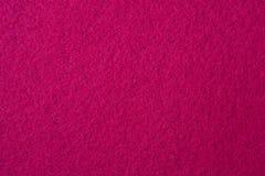 Textura de feltro da cor-de-rosa Fotos de Stock