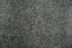 Textura de feltro do cinza Fotos de Stock