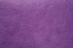 Textura de feltro do roxo Fotografia de Stock
