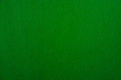 Textura de feltro do verde Fotos de Stock
