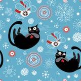 Textura de gatos divertidos Foto de archivo