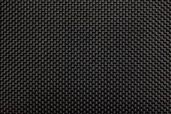 Textura de goma negra de la tela Imagen de archivo libre de regalías