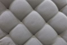Textura de Gray Upholstery Fabric Pattern Background foto de stock