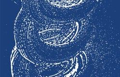 Textura de Grunge Rastro áspero del añil de la desolación adicional libre illustration