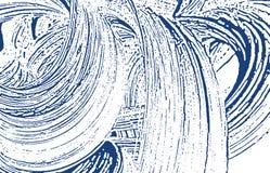 Textura de Grunge Rastro áspero del añil de la desolación drama ilustración del vector