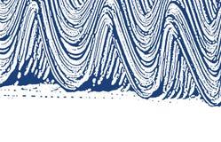 Textura de Grunge Rastro áspero del añil de la desolación drama stock de ilustración