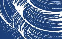 Textura de Grunge Rastro áspero del añil de la desolación Encha libre illustration