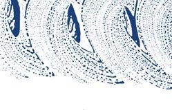 Textura de Grunge Rastro áspero del añil de la desolación Fondo divino Textura sucia del grunge del ruido magnético ilustración del vector