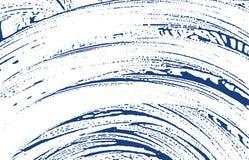 Textura de Grunge Rastro áspero del añil de la desolación Fondo dramático Textura sucia del grunge del ruido origen libre illustration