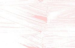 Textura de Grunge Rastro áspero rosado de la desolación Fascina ilustración del vector