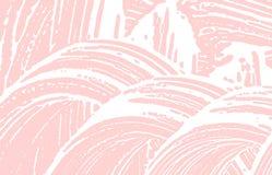 Textura de Grunge Rastro ?spero rosado de la desolaci?n Fetchin ilustración del vector