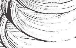 Textura de Grunge Traço áspero cinzento preto da aflição A ilustração royalty free