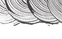 Textura de Grunge Traço áspero cinzento preto da aflição A ilustração do vetor