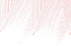 Textura de Grunge Traço áspero cor-de-rosa da aflição Buscando o fundo Textura suja do grunge do ruído stylish ilustração do vetor