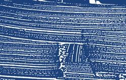 Textura de Grunge Traço áspero do índigo da aflição extra ilustração do vetor
