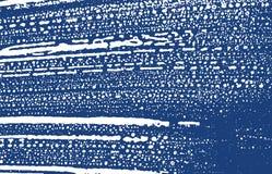 Textura de Grunge Traço áspero do índigo da aflição extra ilustração stock