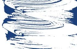 Textura de Grunge Traço áspero do índigo da aflição Fundo dramático Textura suja do grunge do ruído Exquis ilustração do vetor